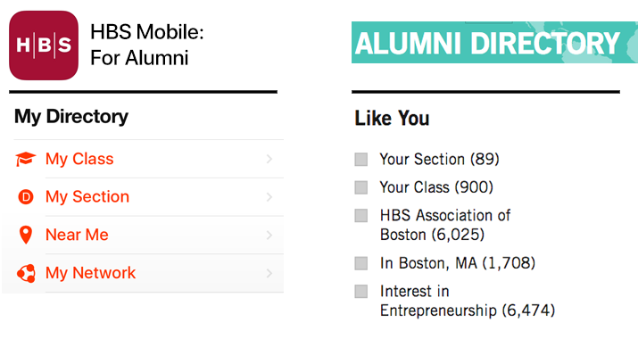 Mobile App: My Directory - Alumni Directory: Like You