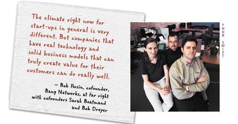 Bang Networks cofounder Bob Rosin, by Thor Swift