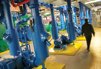 photo of chilled water plant