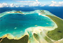 Image of the island of Tetiaroa