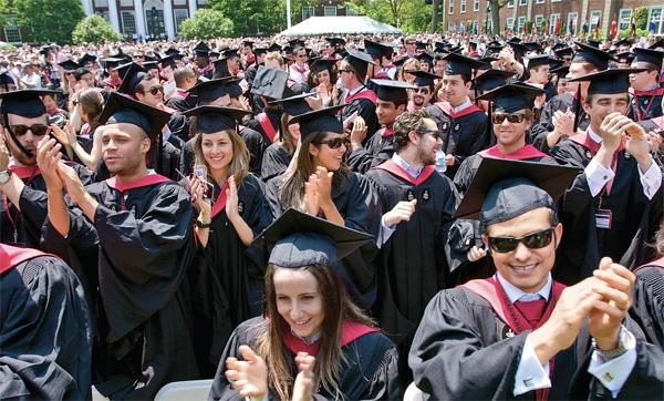 mba 101 hbs commencements pass the century mark alumni harvard